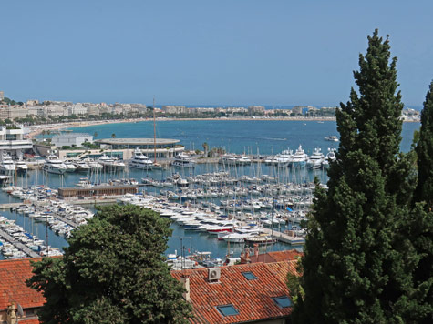 Cannes Bay on the French Riviera