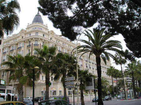 Hotels in the Centre of Cannes France