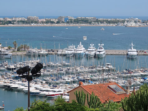 Yachts in Cannes France